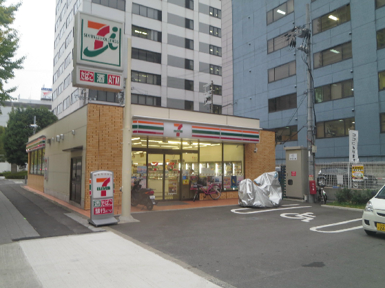コンビ二:セブンイレブン 大阪新町3丁目店 215m