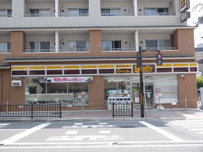 コンビ二:デイリーヤマザキ 鞍馬口店 527m