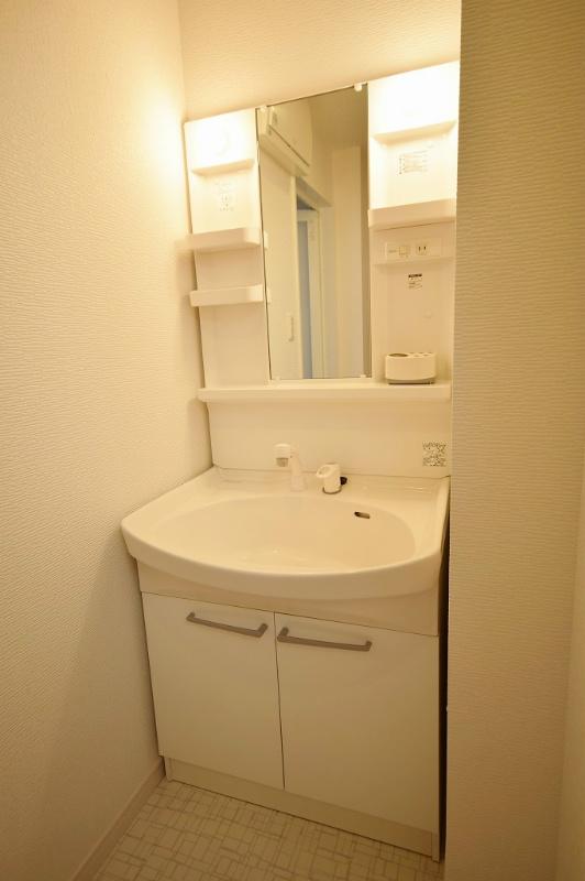シャワー付洗面化粧台 洗面・洗濯も浄水