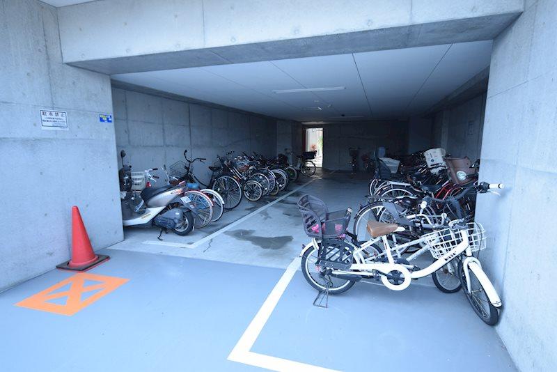 (無料)駐輪場