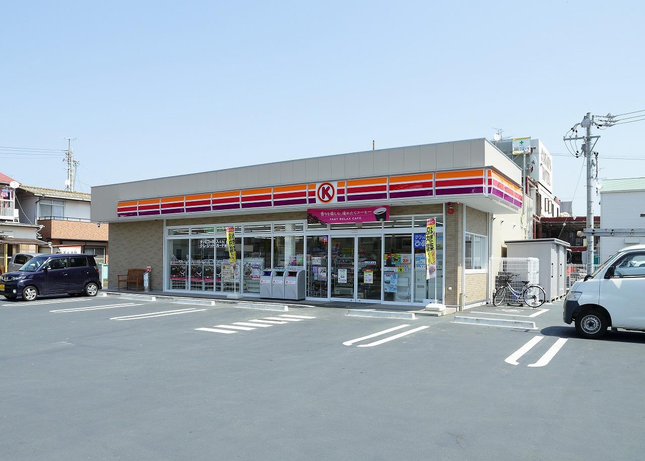 コンビ二:サークルKサンクス 浜松小豆餅店 160m