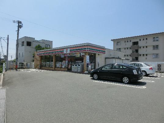 コンビ二:セブンイレブン 浜松蜆塚4丁目店 493m