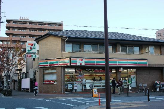 コンビ二:セブンイレブン 西宮夙川店 388m