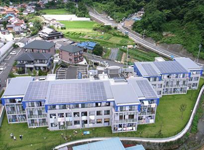 全戸別型太陽光発電マンション