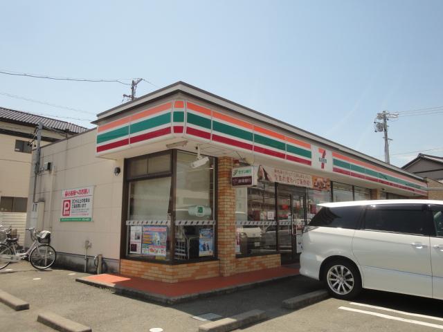 コンビ二:セブンイレブン 浜松布橋2丁目店 434m