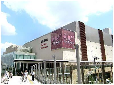ショッピング施設:阪急西宮ガーデンズ 1361m