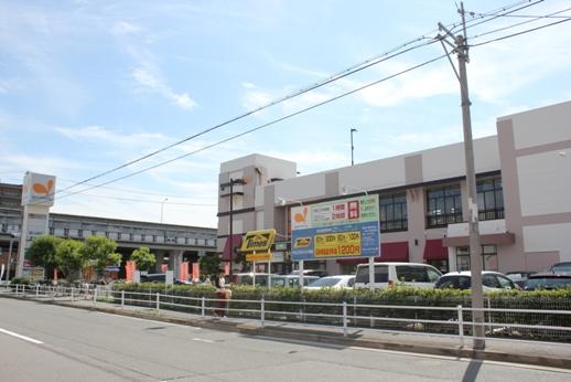 スーパー:グルメシティ 今津店 525m