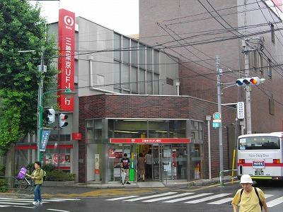 銀行:三菱東京UFJ銀行 309m 近隣