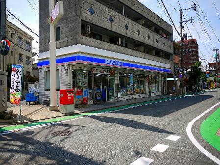 コンビ二:ローソン薬院伊福町店 50m