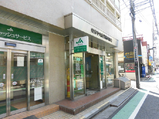 銀行:JA東京中央船橋支店 605m
