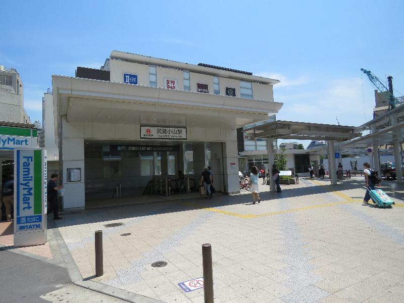 周辺環境:武蔵小山駅