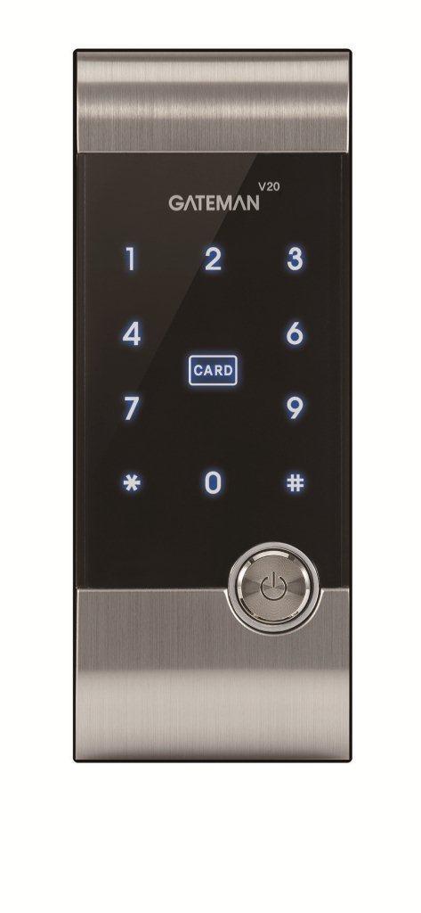 非接触型ICカードキー使用