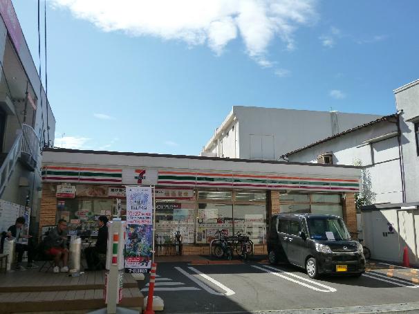 コンビ二:セブンイレブン 吹田関大前店 15m