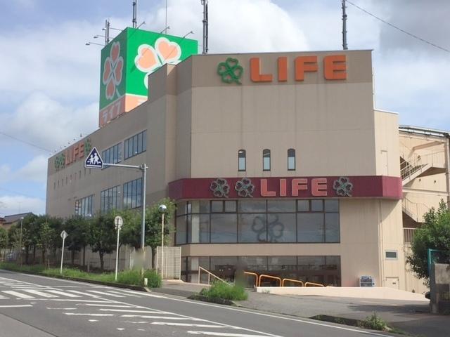 スーパー:ライフ 増尾店 393m