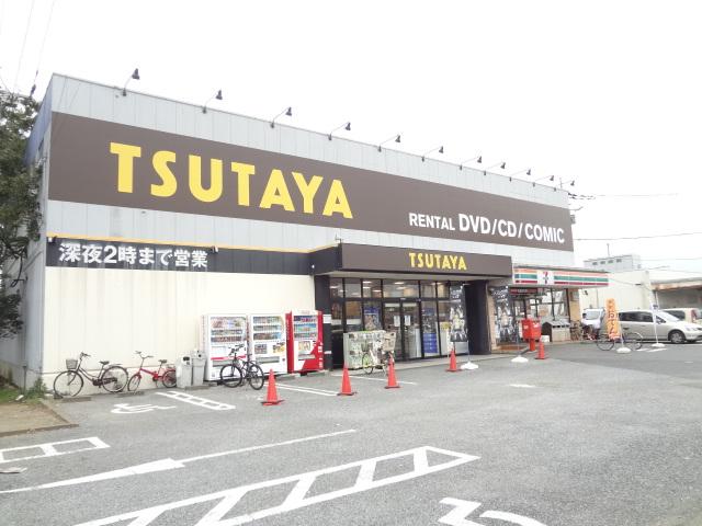 ショッピング施設:TSUTAYA 増尾中原店 580m