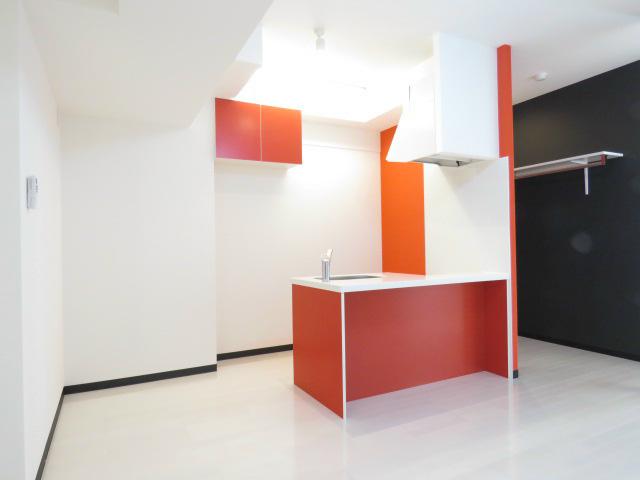 リビング・オープンキッチン。
