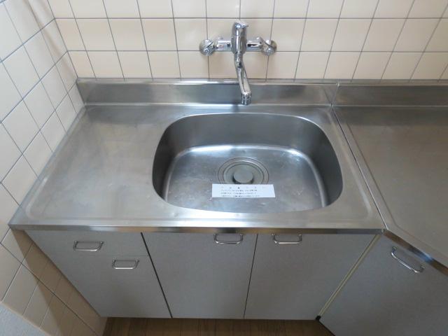 レバーハンドル水栓。