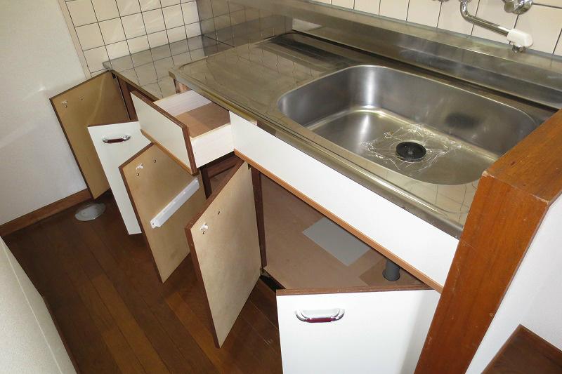 キッチン下部収納