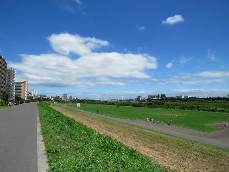 周辺環境(多摩川河川敷)
