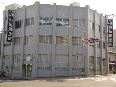 銀行:京都中央信用金庫西陣支店 700m