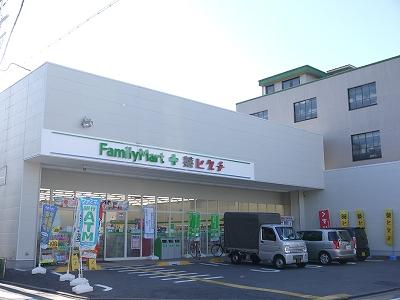 ドラッグストア:ファミリーマート 薬ヒグチ西陣北店 232m