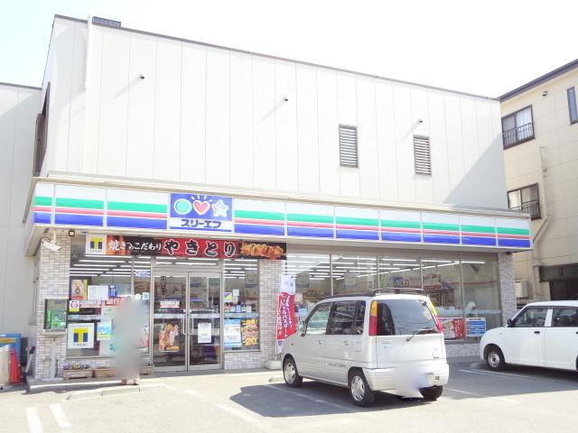 コンビ二:スリーエフ 逆井駅前店 195m