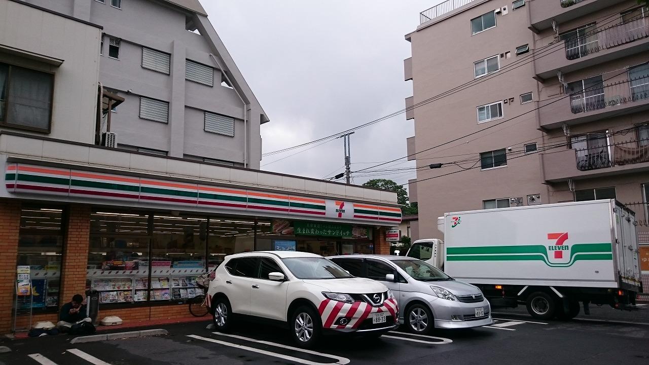 コンビ二:セブンイレブン 世田谷赤堤2丁目店 377m