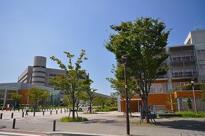 ランドマーク:北九州学術研究都市・ 3168m 近隣