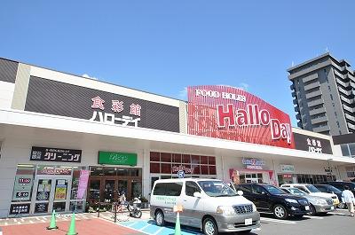 スーパー:ハローデイ共立大前店・ 1353m 近隣