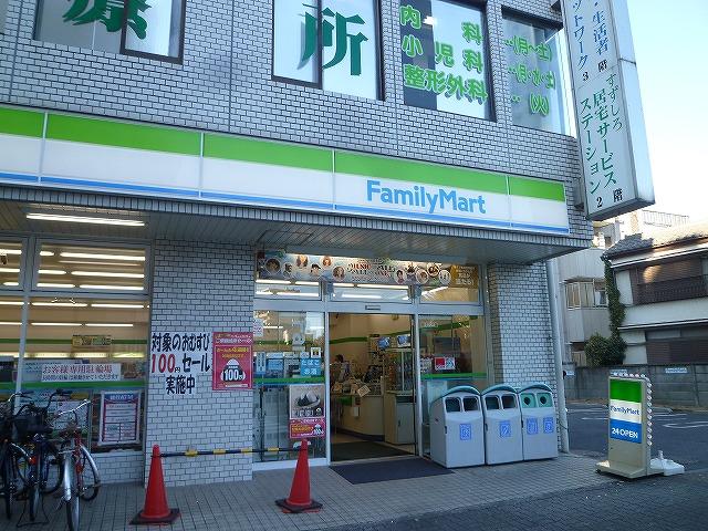 コンビ二:ファミリーマート 練馬中央通り店 136m