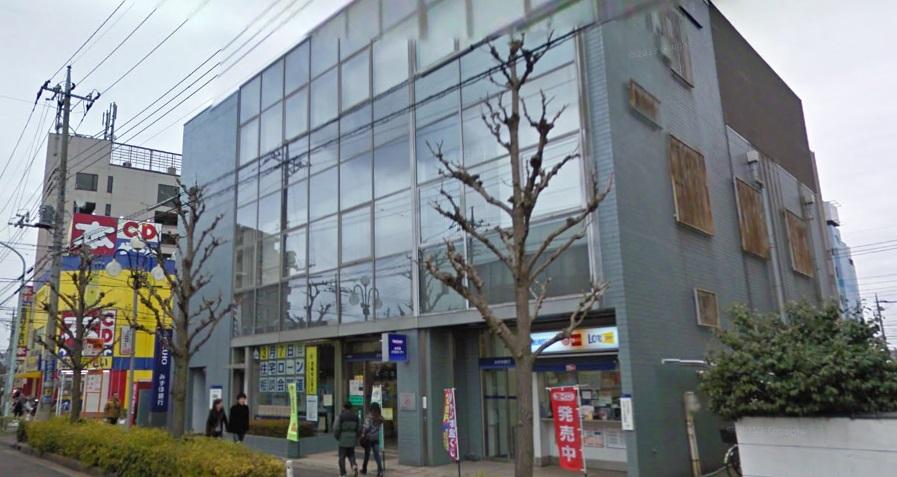 銀行:みずほ銀行 三郷支店 432m