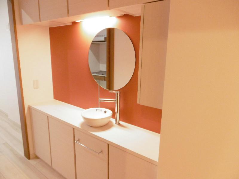 洗面スペースの収納