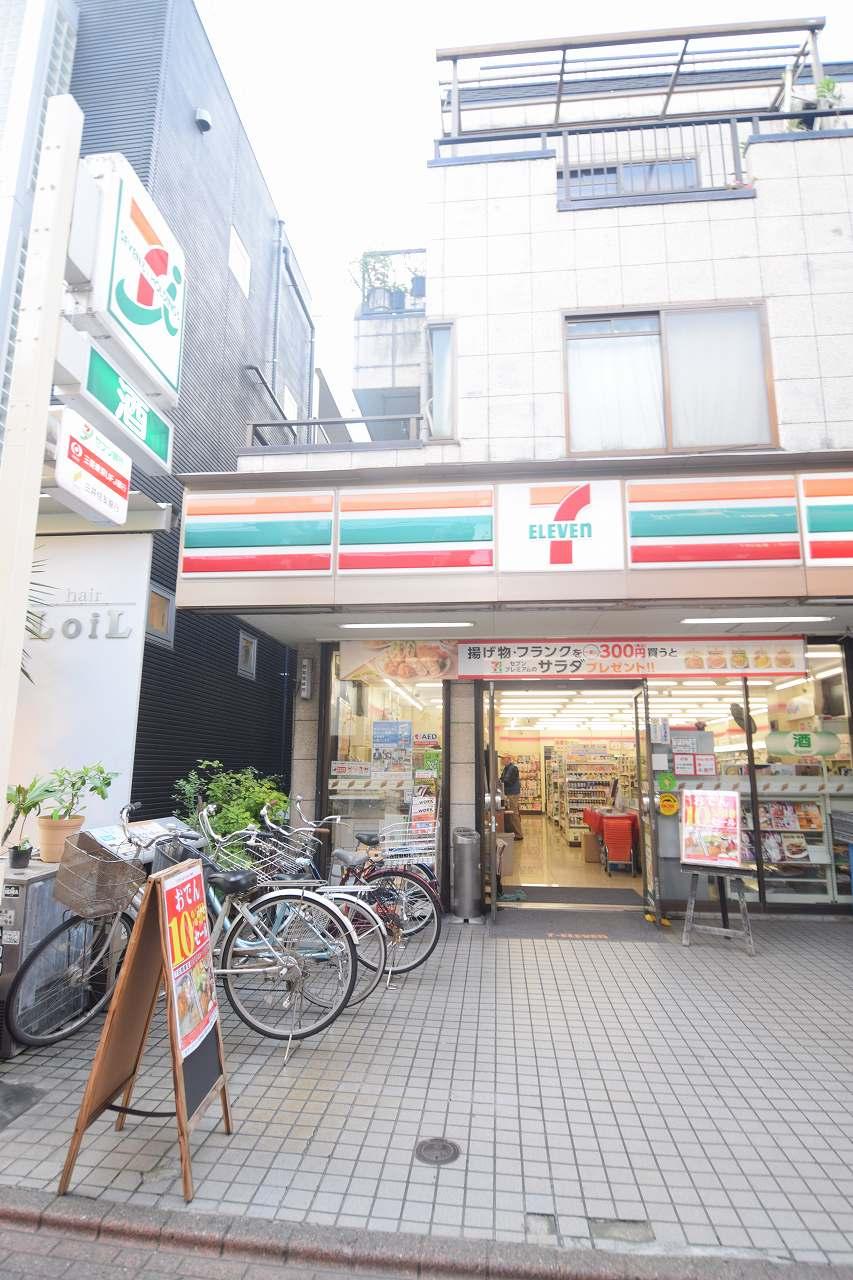 コンビ二:セブンイレブン 大田区蒲田1丁目北店 187m