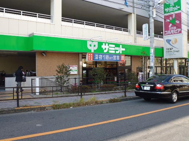 スーパー:サミットストア 氷川台駅前店 112m
