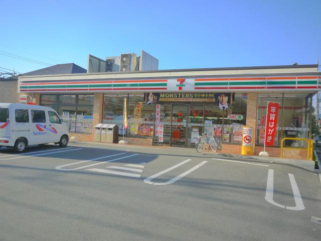 コンビ二:セブンイレブン 練馬石神井町7丁目店 206m