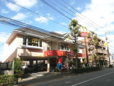 レストラン:マクドナルド 富士街道石神井店 392m