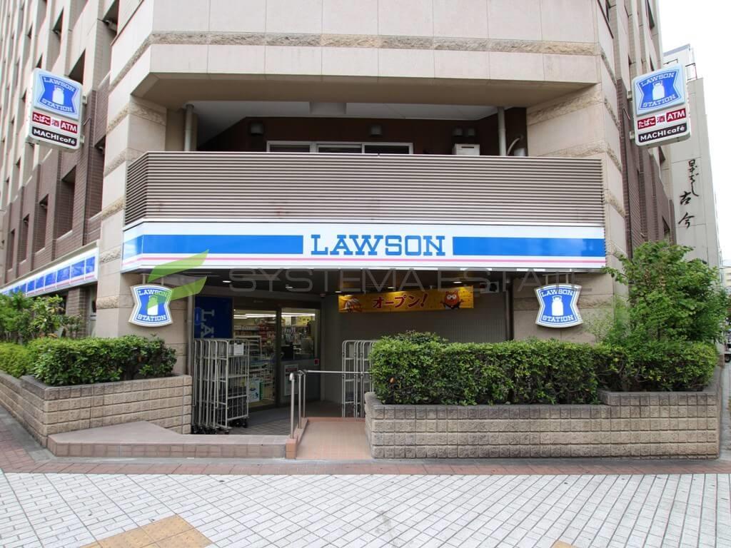 コンビ二:ローソン 馬喰町駅前店 169m