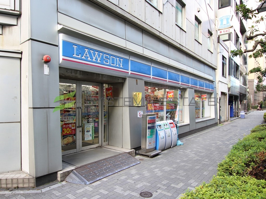 コンビ二:ローソン 日本橋蛎殻町店 113m