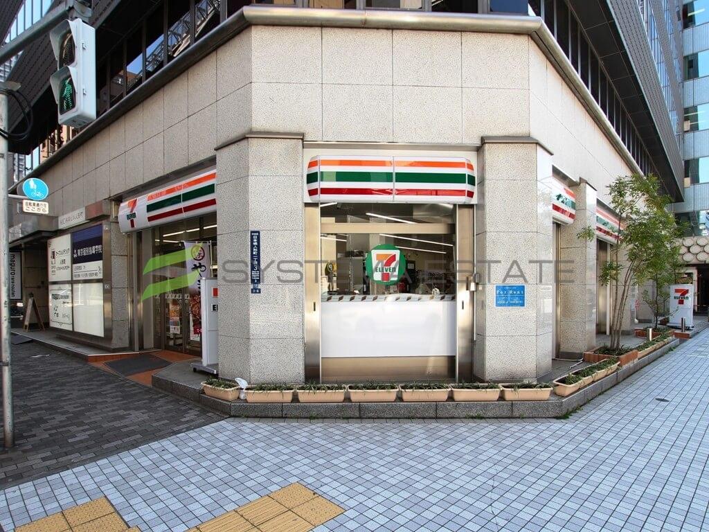 コンビ二:セブンイレブン 人形町駅西店 98m