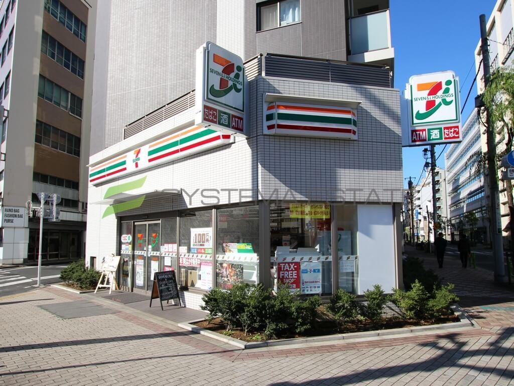コンビ二:セブンイレブン 日本橋馬喰町2丁目店 105m
