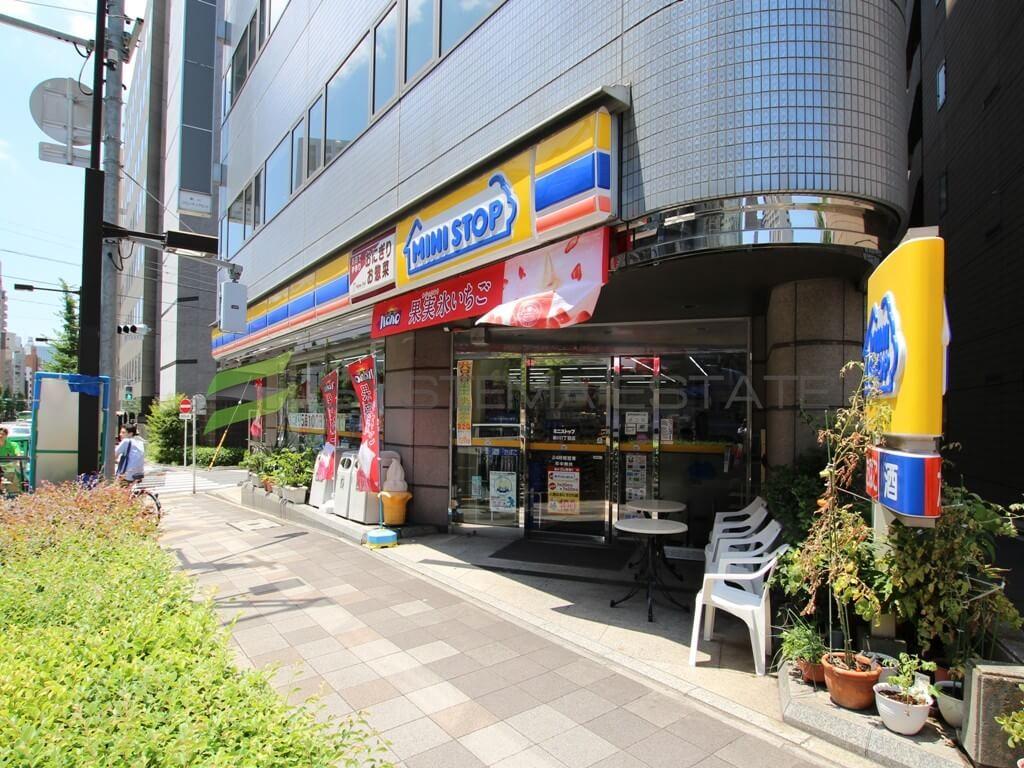 コンビ二:ミニストップ 新川1丁目店 124m