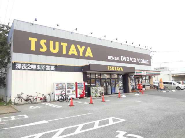 ショッピング施設:TSUTAYA 増尾中原店 317m