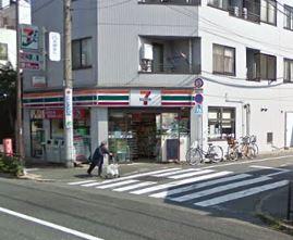 コンビ二:セブンイレブン 世田谷上野毛駅前店 686m