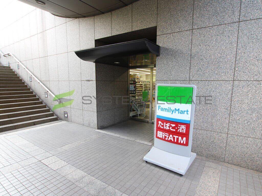 コンビ二:ファミリーマート リバーゲート箱崎店 392m