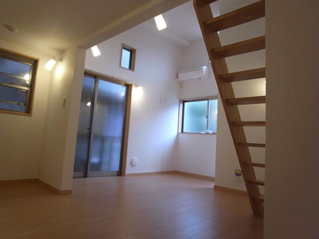 入居者様の配置よって完成されるリビング空間