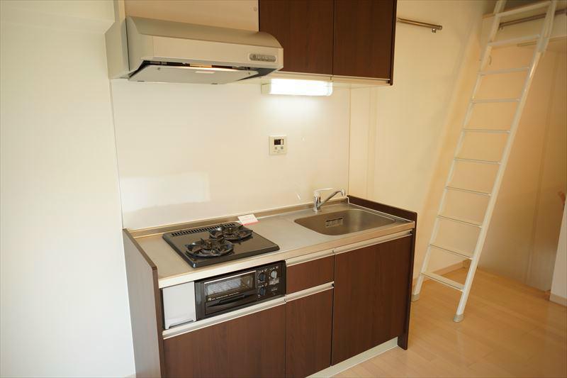 ガス2口システムキッチン