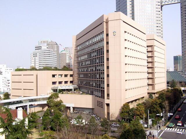 総合病院:聖路加国際病院 198m