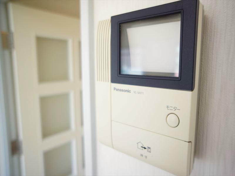安心のTVモニター付きインターフォンあり