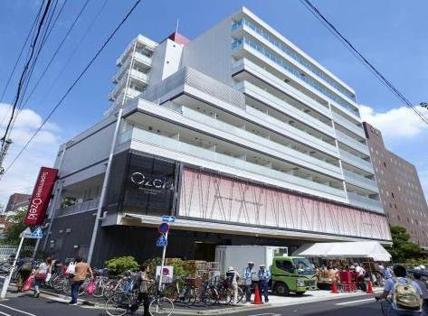 スーパー:オオゼキ 門仲牡丹店 504m