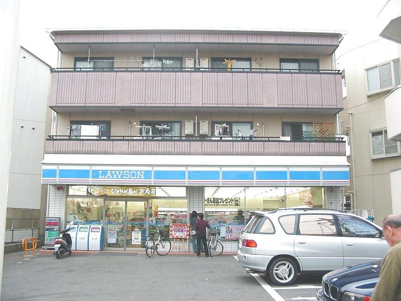 コンビ二:ローソン 枚方甲斐田店 450m